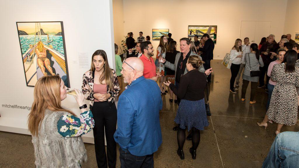 Mitchell_Fine_Art_Gallery_Exhibition_Opening_Brisbane