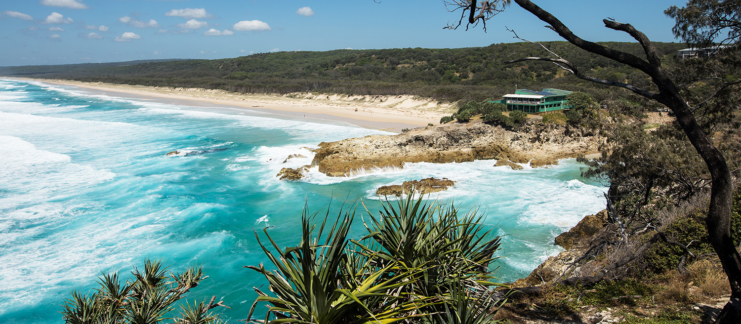 Picture of North Stradbroke Island for Fitness Photography Blog post about Summer and Fitness