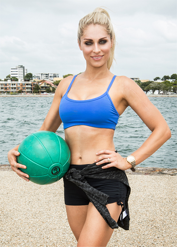Summer Fitness Photoshoot at Wynnum Queensland in Brisbane