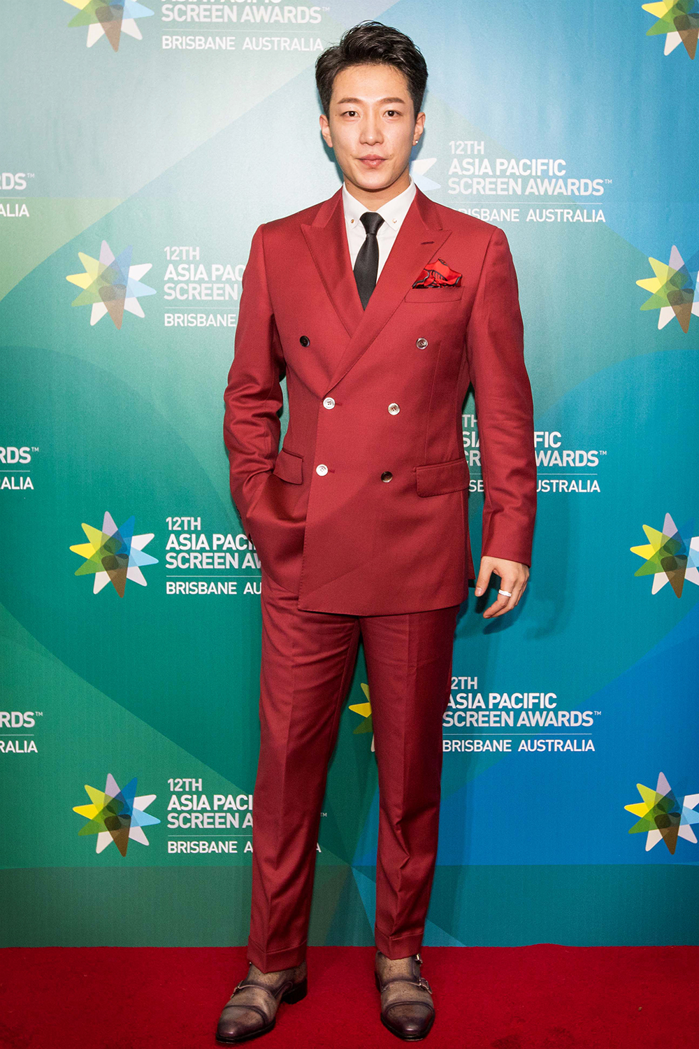 Styled Mens Fashion on the red carpet at the Asia Pacific Screen Awards held in Brisbane