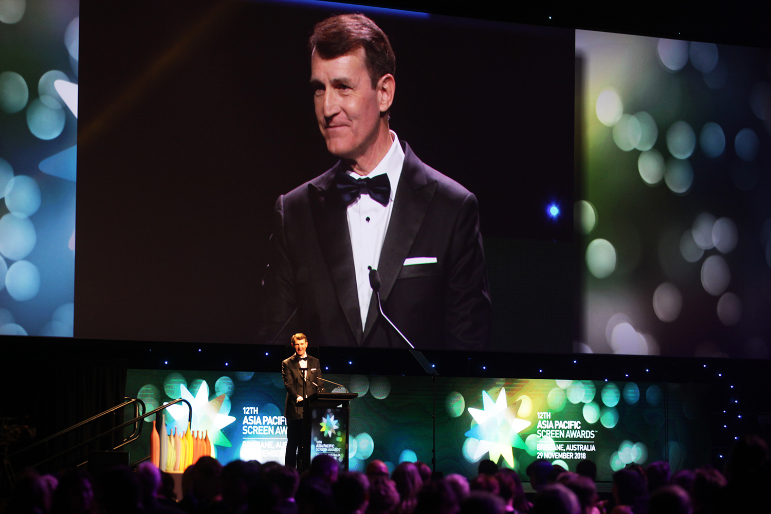 Brisbane's Lord Mayor Graham Quirk at the Asia Pacific Screen Awards