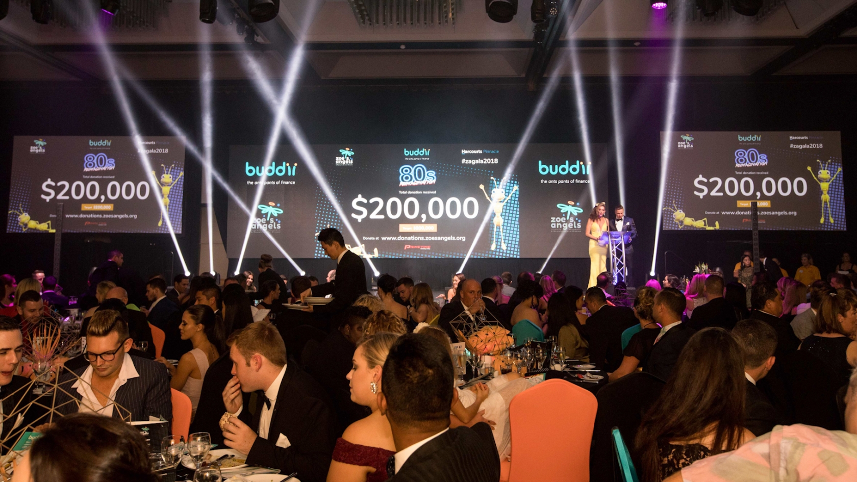 Fundraising for Zoe's Angels Charity Gala held at the Sofitel Brisbane captured by Brisbane Event Photographer