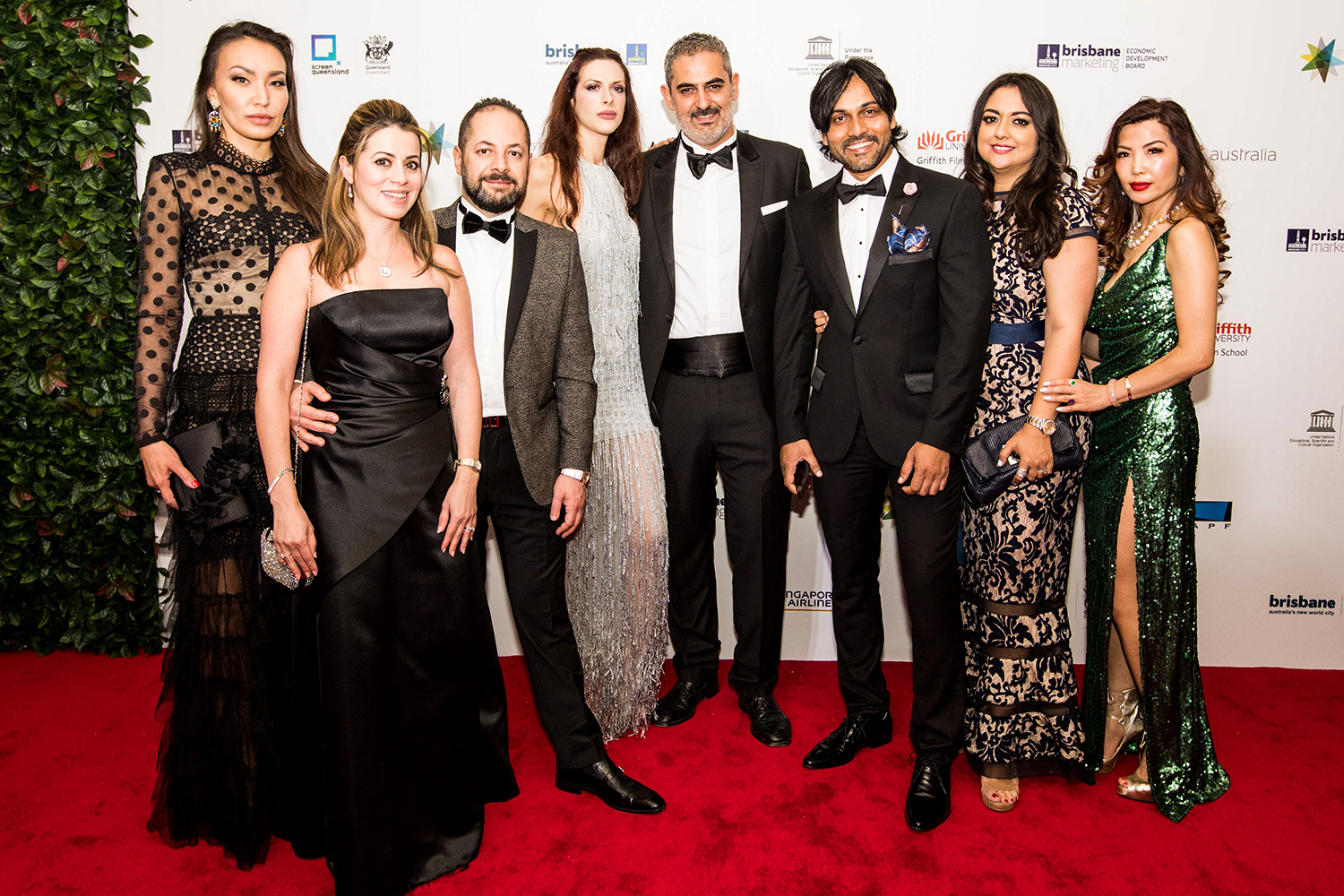 Guest on the Red Carpet of the APSA held in Brisbane on the 29th November 2018