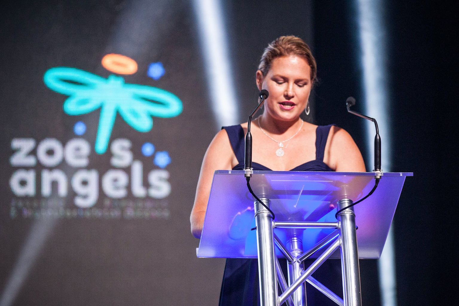 Founder of Zoe's Angels Charity Event held at the Sofitel Hotel in Brisbane