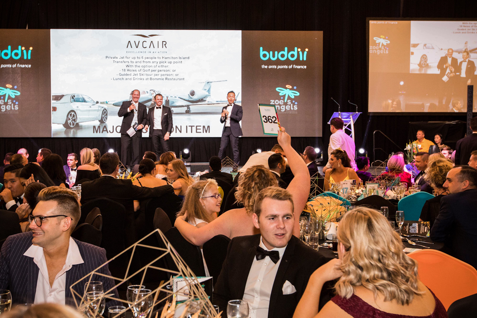 Zoe's Angels Charity Event with the Auction being held at the Sofitel Hotel in Brisbane
